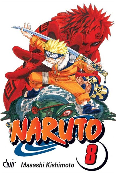 Mangá - Naruto Vol. 08 (Em Português)