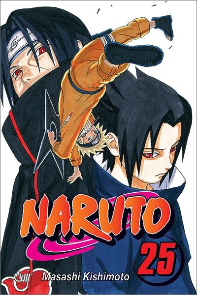 Mangá - Naruto Vol. 25 (Em Português)