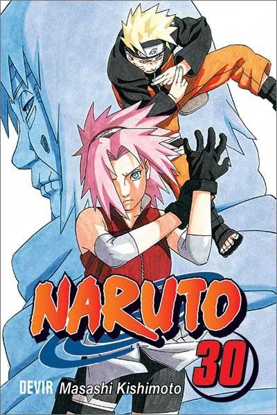 Mangá - Naruto Vol. 30 (Em Português)