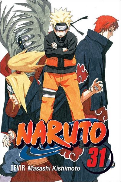 Mangá - Naruto Vol. 31 (Em Português)