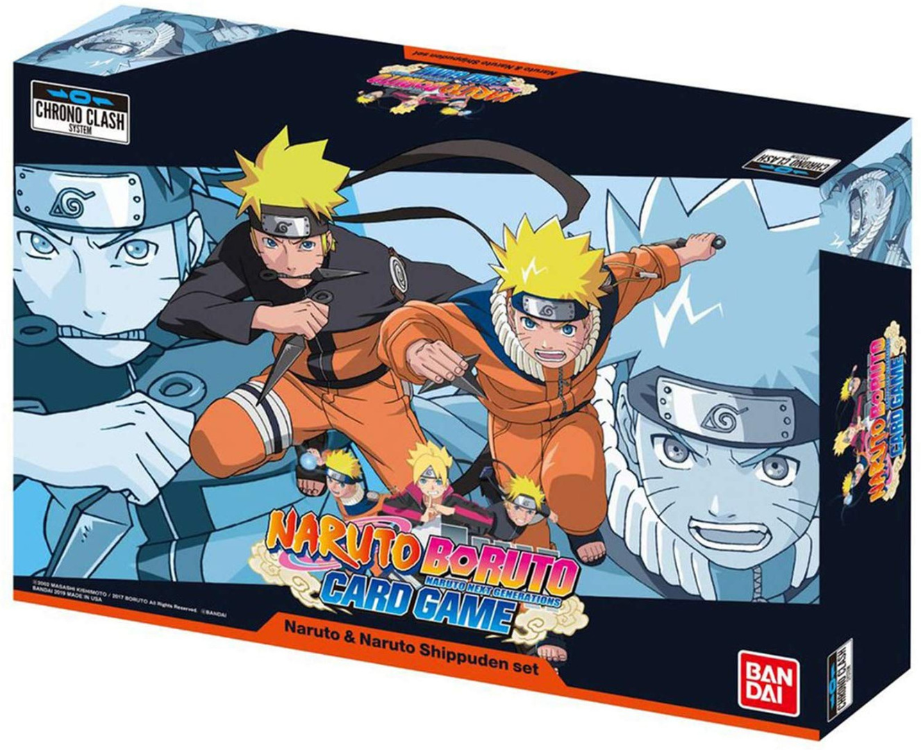 Naruto Boruto Card Game: Naruto & Naruto Shippuden Set English