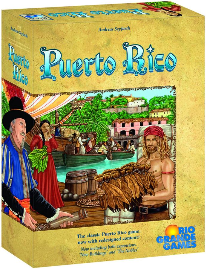 Puerto Rico - Deluxe Edition (Game Board + 2 Expansões)