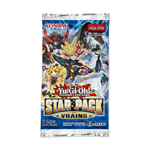 Yu-Gi-Oh- Star Pack Vrains - Booster English