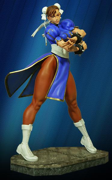 Estátua Street Fighter 1/4 Chun-Li 48 cm