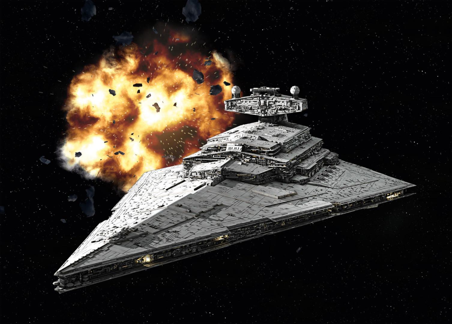 Revell Model Kit Star Wars Imperial Star Destroyer Scale: 1:12300