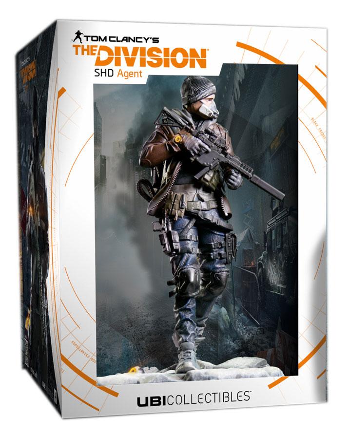 Estátua PVC Tom Clancy´s The Division SHD Agent 24 cm