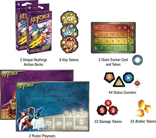 FFG - KeyForge Worlds Collide Two-player Starter Set