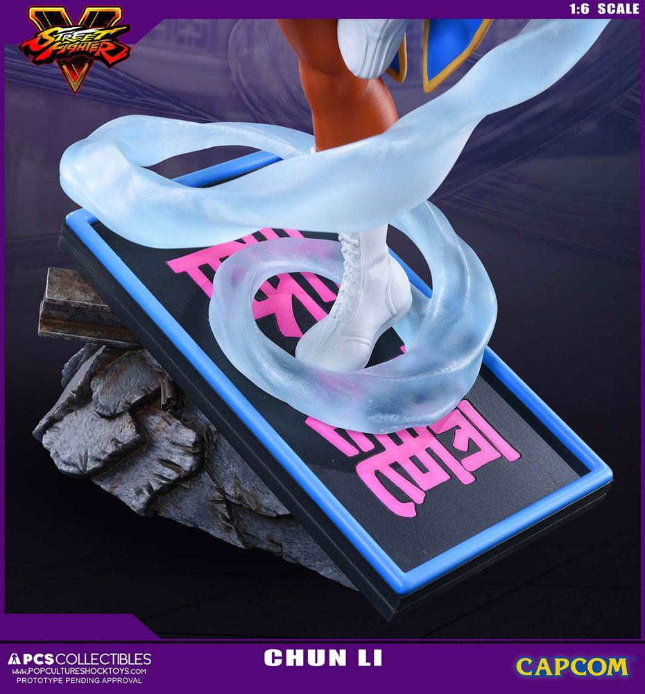 Estátua Street Fighter V 1/6 Chun-Li 43 cm