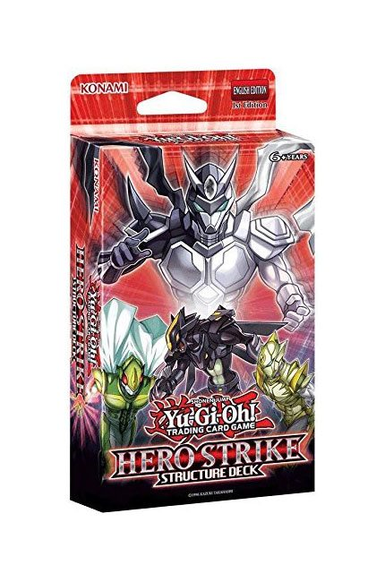 Yu-Gi-Oh! Structure Deck HERO Strike English Version
