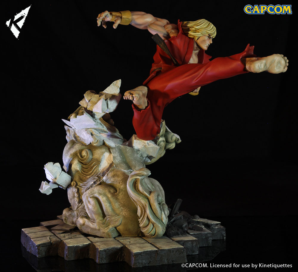Diorama Street Fighter Battle of the Brothers 1/6 Ken Masters 45 cm
