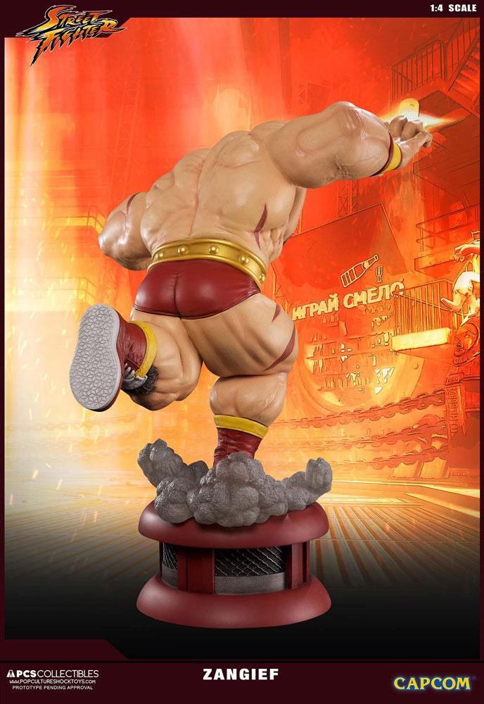 Estátua Street Fighter V 1/4 Zangief 69 cm
