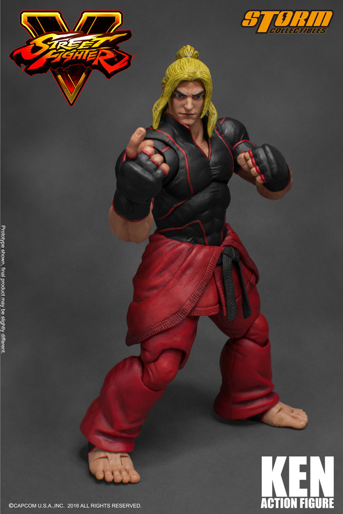 Action Figure Street Fighter V 1/12 Ken 18 cm
