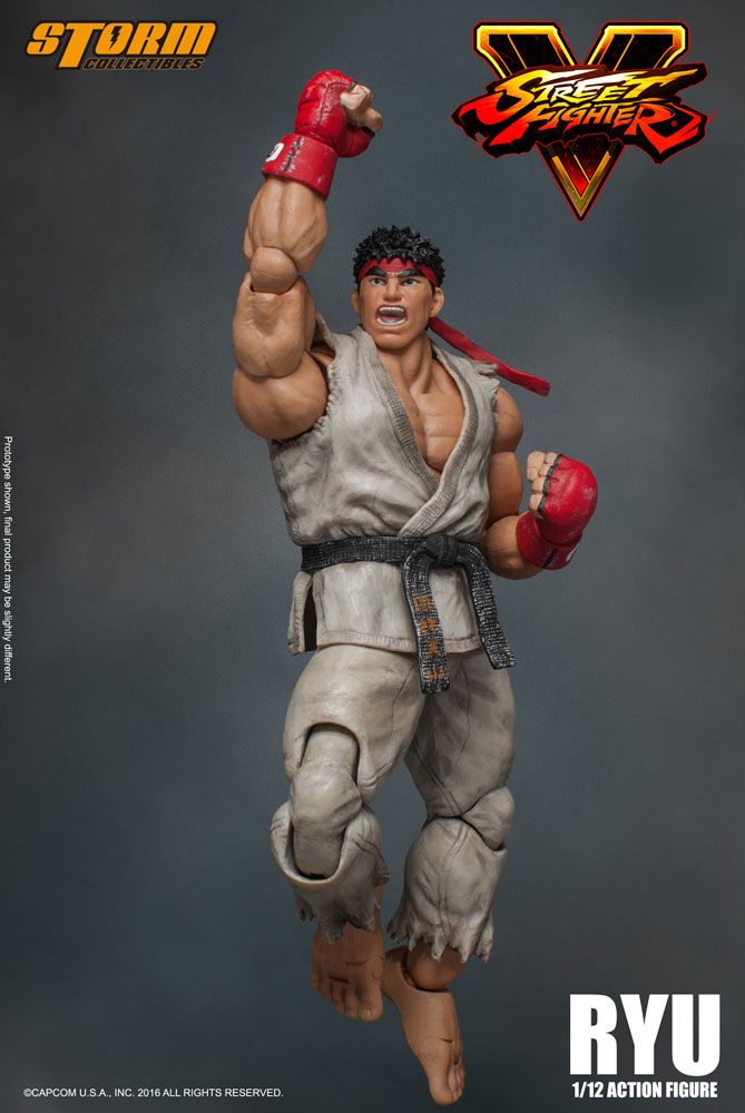 Action Figure Street Fighter V 1/12 Ryu 18 cm