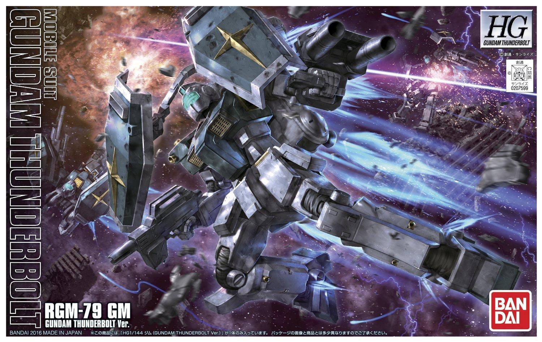 Gundam: High Grade - GM Gundam Thunderbolt Ver. 1:144 Model Kit