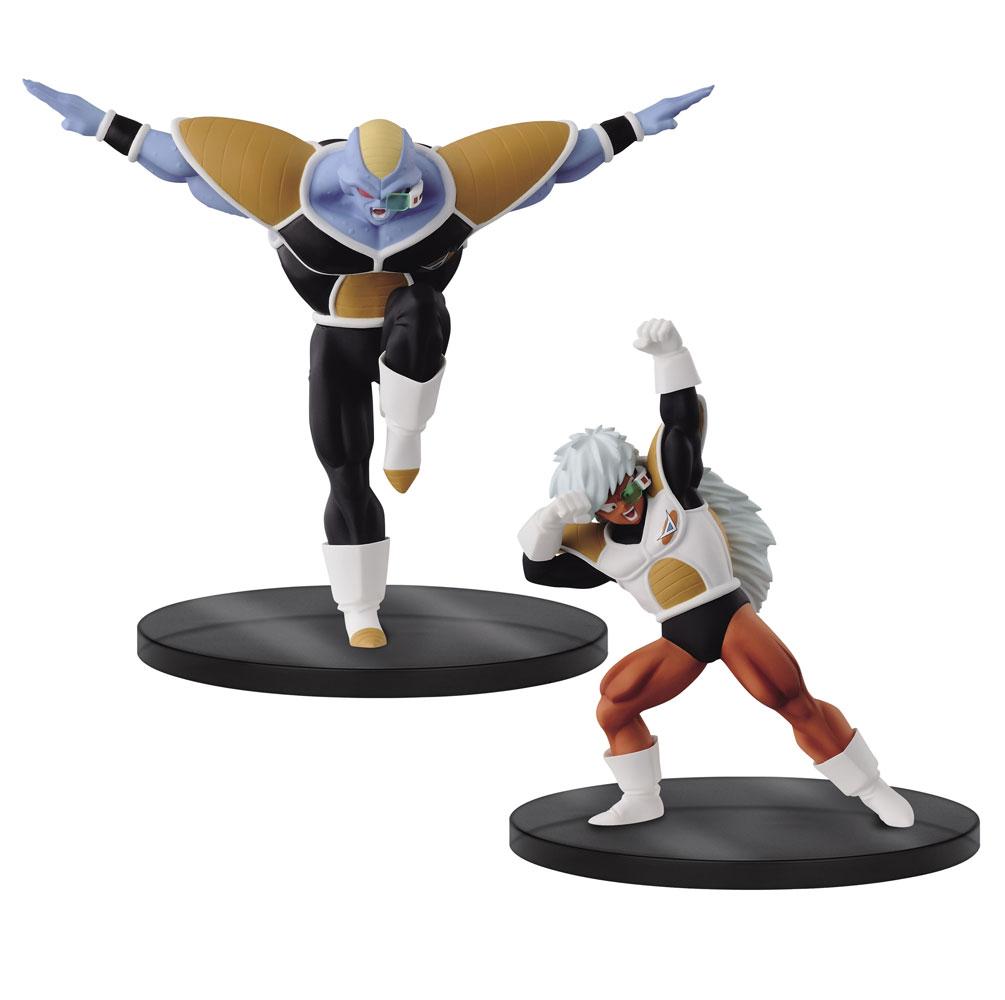 Dragonball Z Dramatic Showcase Figures Pack Burter 11 cm + Jeice 13 cm
