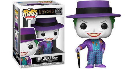 Batman 1989 POP! Heroes Figures Joker Vinyl Figure 10 cm