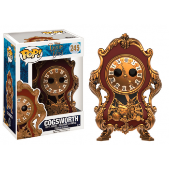 Funko POP! - Beauty and the Beast Live Action - Cogsworth 10 cm