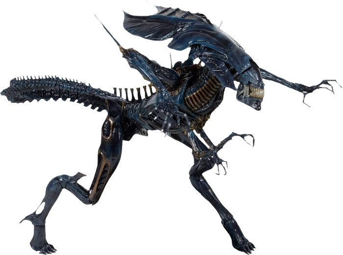 Aliens - Xenomorph Alien Queen Deluxe Boxed Action Figure 38cm / 76 cm long