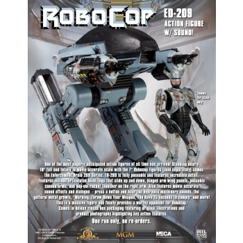Action Figure Robocop ED-209 Fully Poseable Deluxe w/ Sound 25 cm