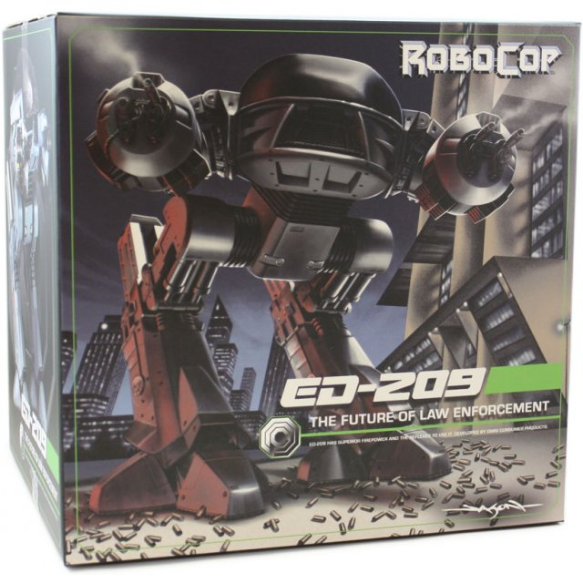 RoboCop Action Figure with Sound ED-209 25 cm