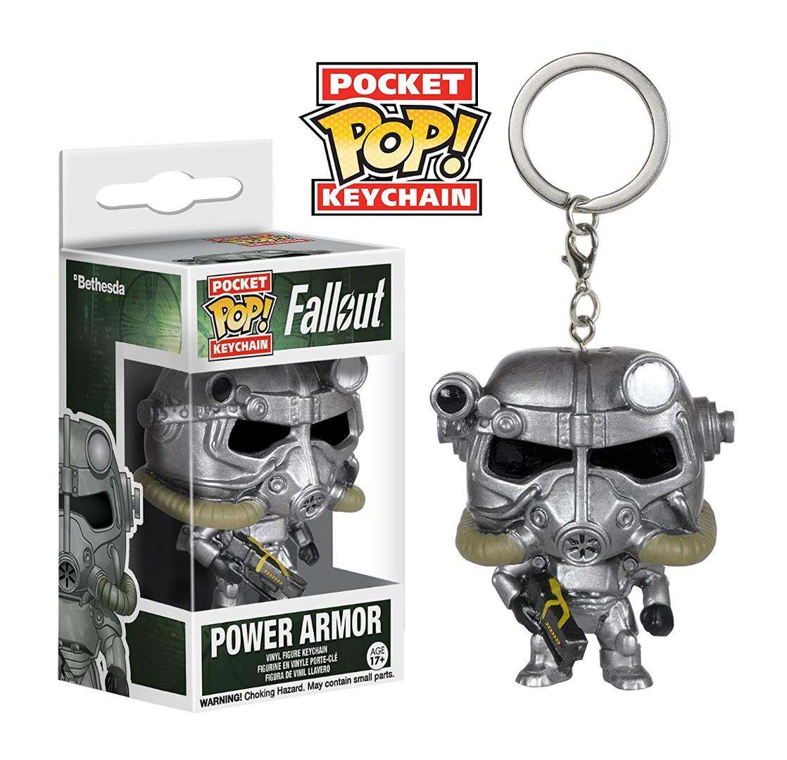 Funko Pocket POP! Keychain - Fallout: Power Armor - Vinyl Figure 4 cm