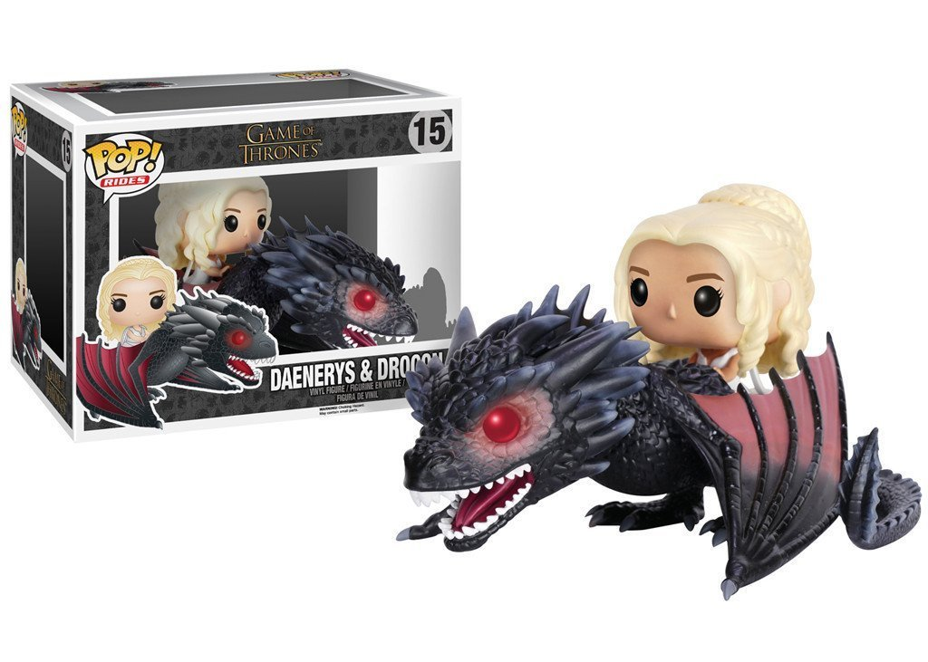 Funko POP Rides! - Game Of Thrones Daenerys & Drogon  Set 12cm/20 cm long