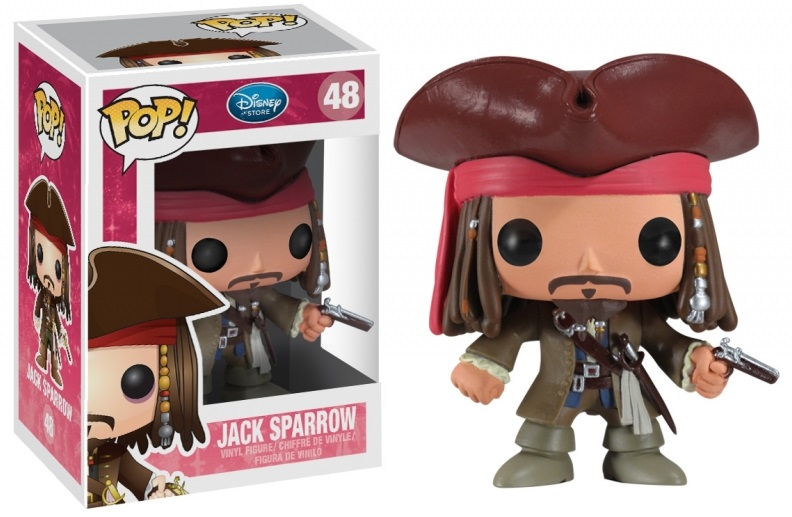 Pop! Disney: Pirates of the Caribbean Jack Sparrow 10 cm