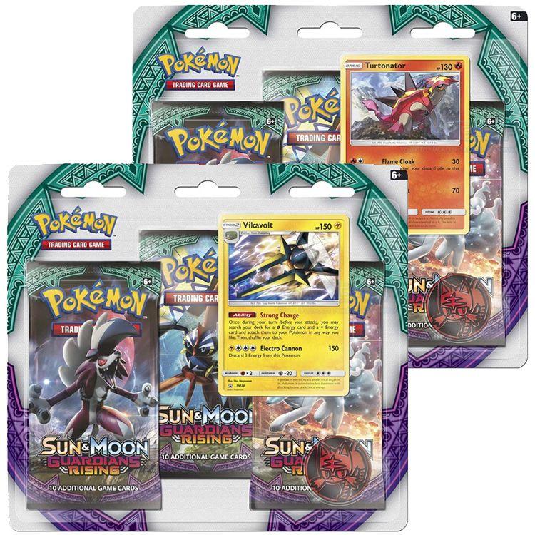 Pokémon Sun&Moon Guardians Rising 3 Blister Booster English