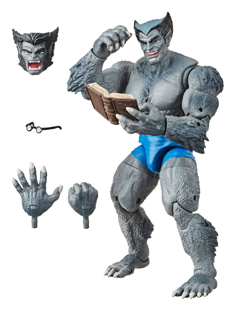 Marvel Legends Series Vintage Collection AF Marvel's Beast (The Uncanny)