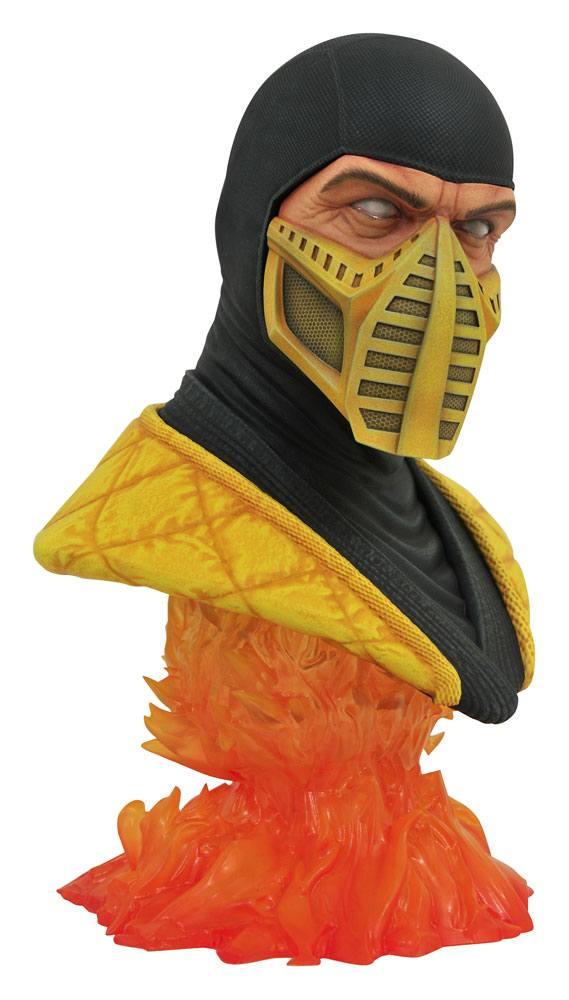 Mortal Kombat Legends in 3D Bust 1/2 Scorpion 25 cm