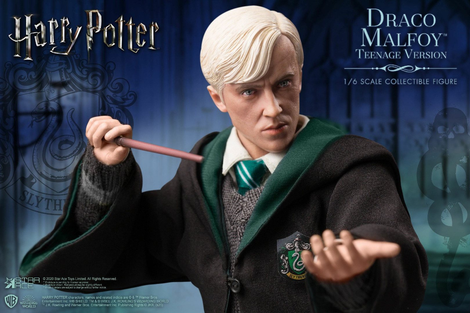 Harry Potter My Favourite Movie AF 1/6 Draco Malfoy Teenager School Uniform