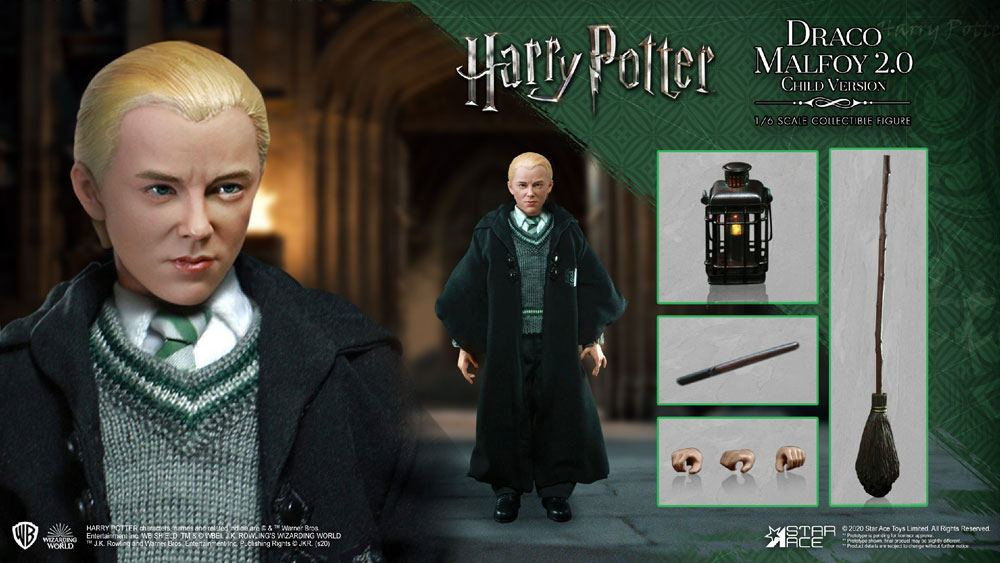 Harry Potter My Favourite Movie AF 1/6 Draco Malfoy 2.0 (School Uniform)