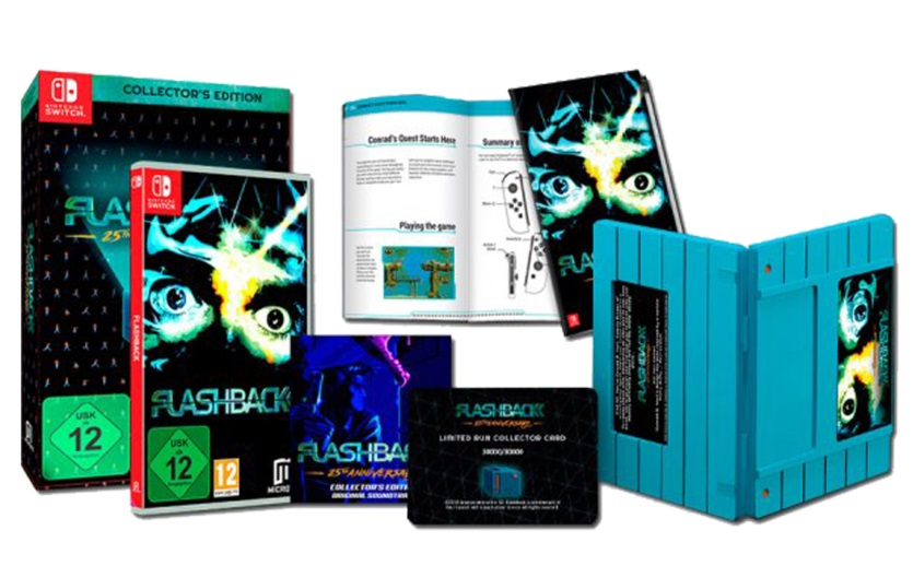 Flashback 25 Anniversary Collectors Edition Nintendo Switch (Novo)