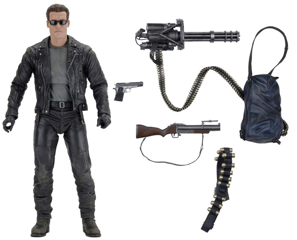 Action Figure Terminator 2 Judgment Day 1/4 T-800 45 cm