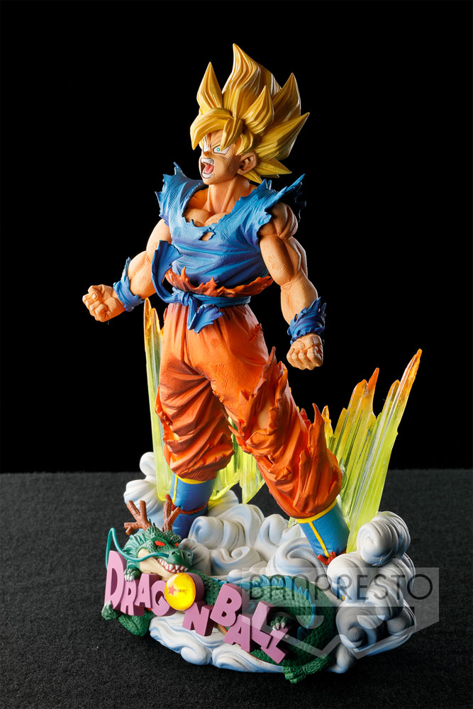 Dragonball Z Super Master Stars Piece Figure The Son Goku 18 cm