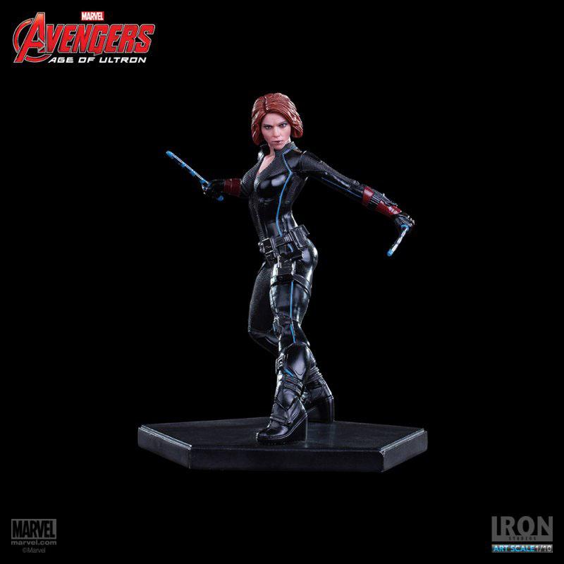 Estátua Avengers Age of Ultron 1/10 Black Widow 16 cm