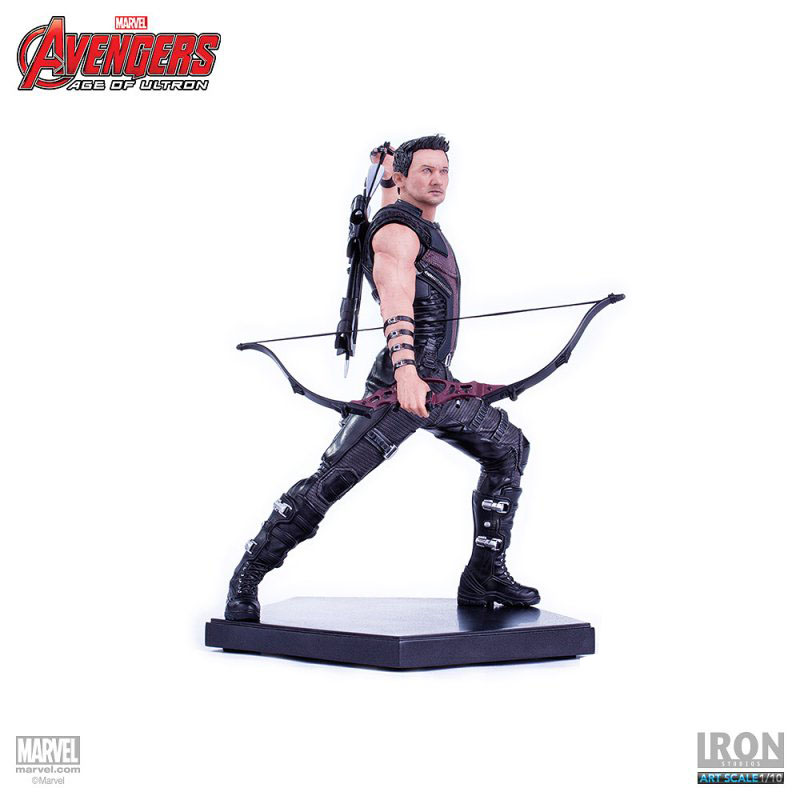 Estátua Avengers Age of Ultron 1/10 Hawkeye 18 cm