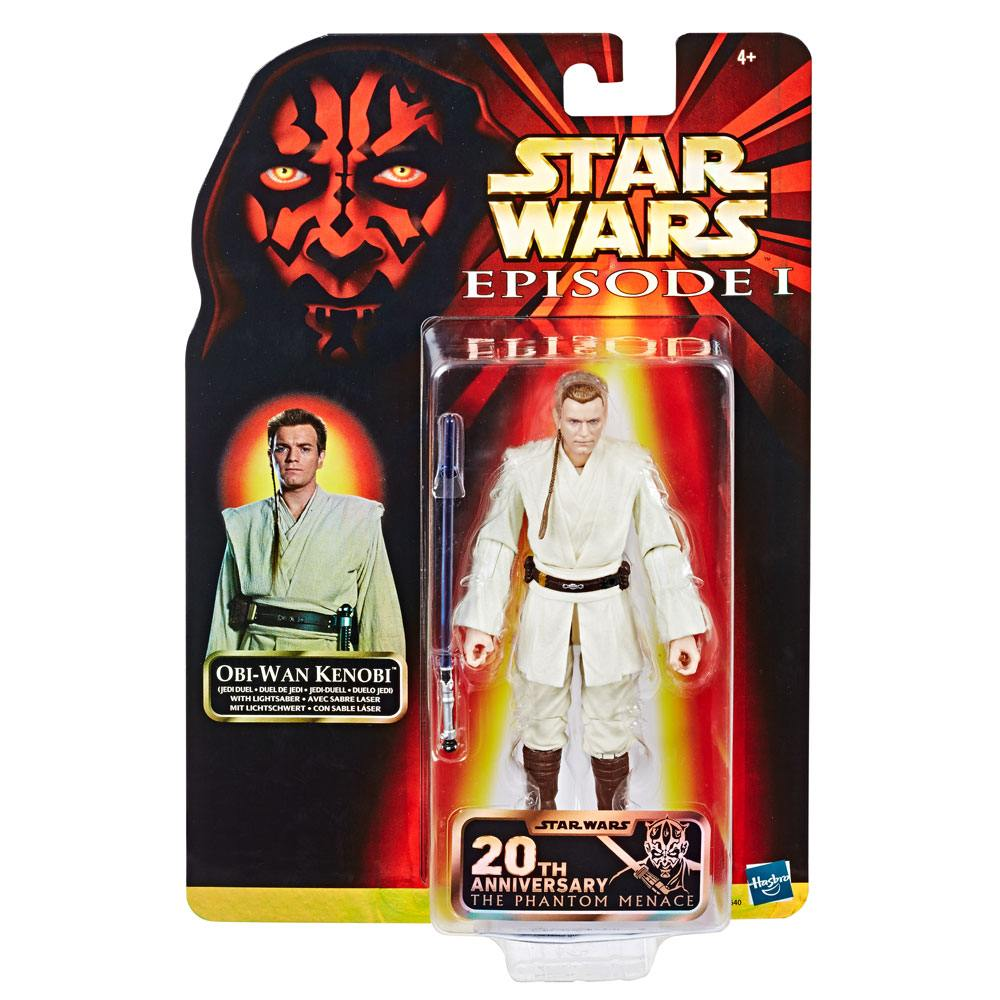 Star Wars EP I Black Series AF Obi-Wan (Jedi Duel) 20th Anniversary Exclus.