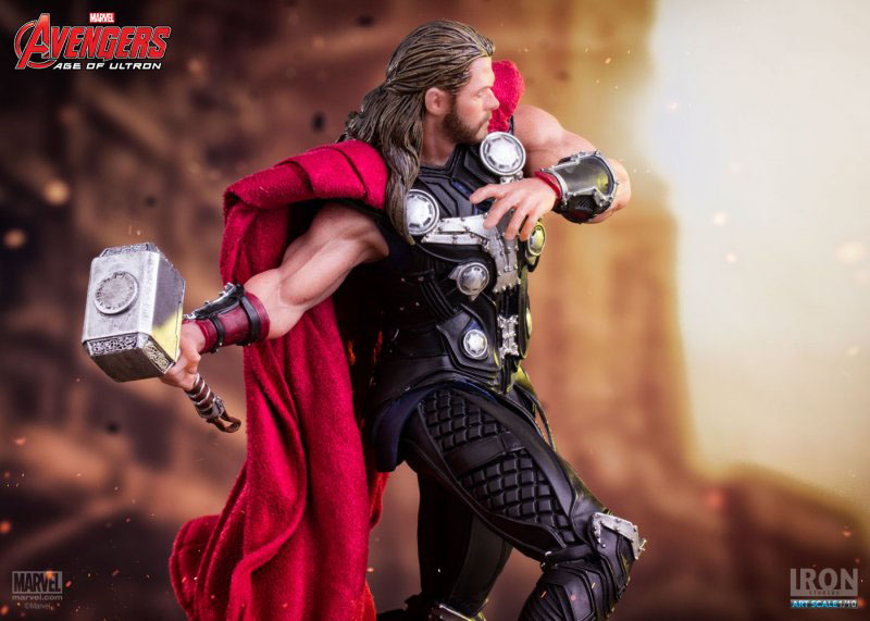 Estátua Avengers Age of Ultron 1/10 Thor 19 cm