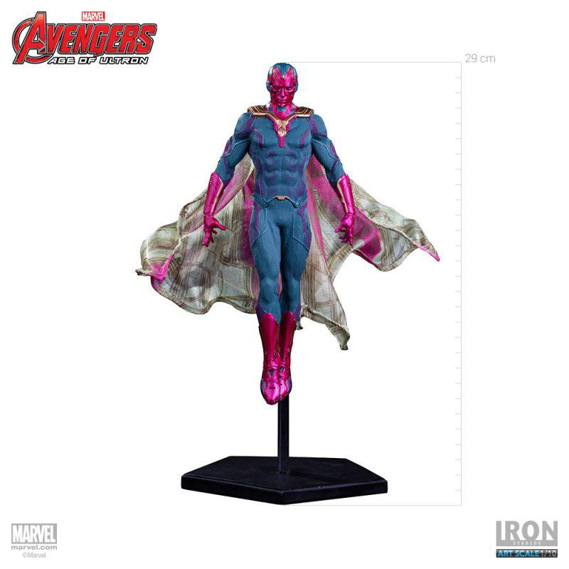 Estátua Avengers Age of Ultron 1/10 Vision 29 cm