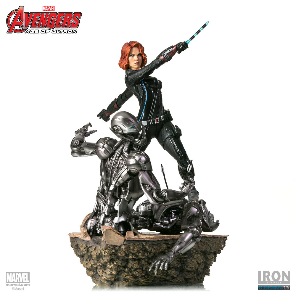 Estátua Avengers Age of Ultron 1/6 Black Widow 36 cm