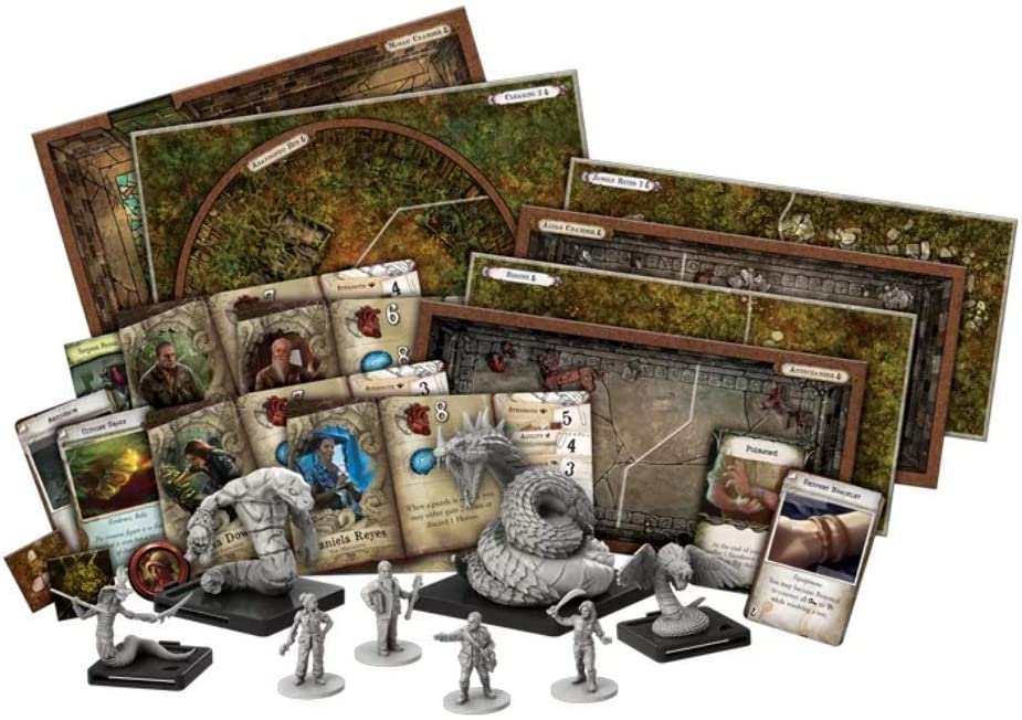FFG - Mansions of Madness: Path of the Serpent Expansion