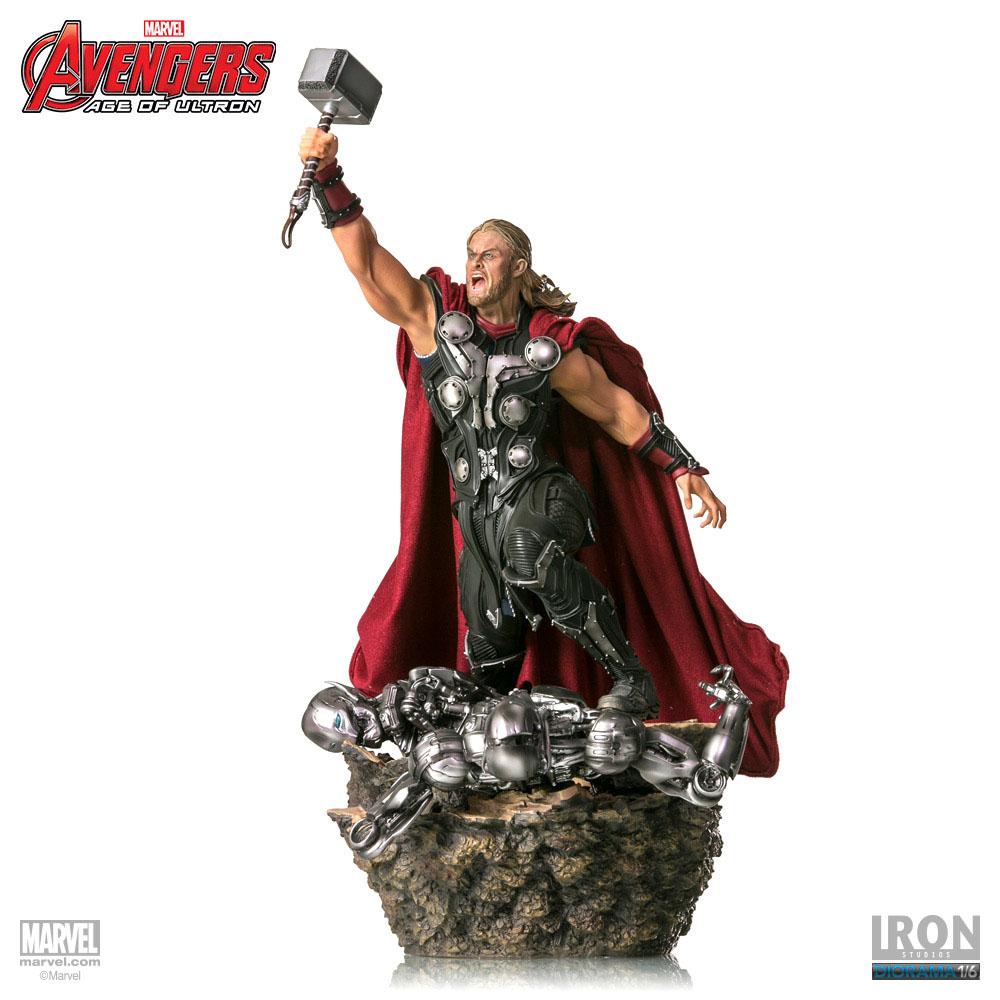 Estátua Avengers Age of Ultron 1/6 Thor 47 cm