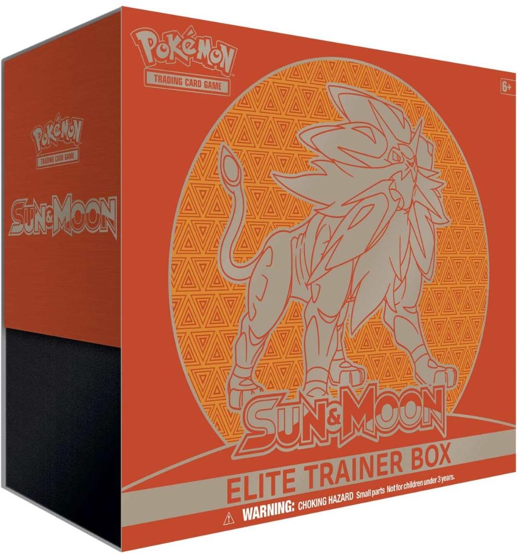 Pokemon TCG: Sun and Moon - Elite Trainer Box - EN