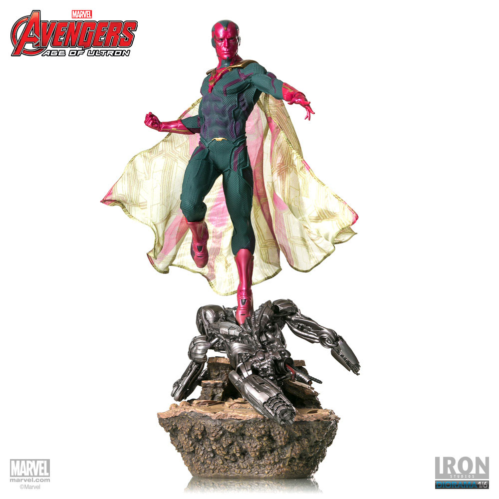 Estátua Avengers Age of Ultron 1/6 Vision 52 cm