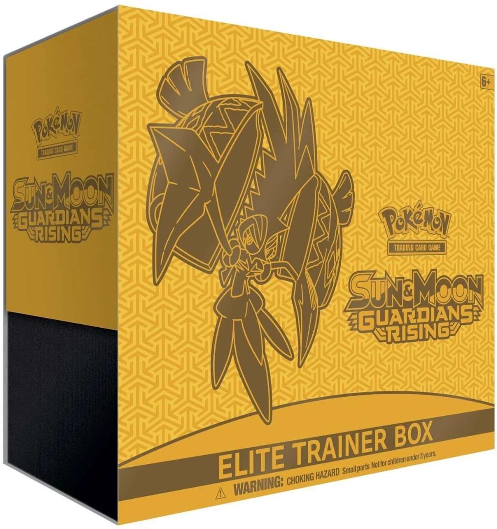 Pokemon TCG: Sun and Moon 2: Guardians Rising - Elite Trainer Box - EN