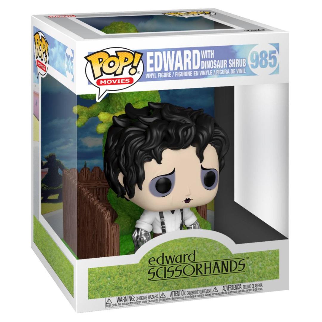 Edward Scissorhands POP! Deluxe Vinyl Figure Edward & Dino Hedge 10 cm