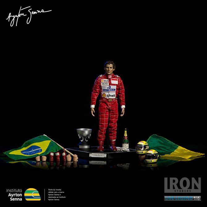 Action Figure Ayrton Senna 1/6 Ayrton Senna (GP São Paulo 1993) 30 cm