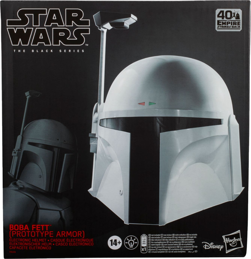 Hasbro Star Wars Black Series Boba Fett (Prototype Armour) 1:1 Scale Helmet