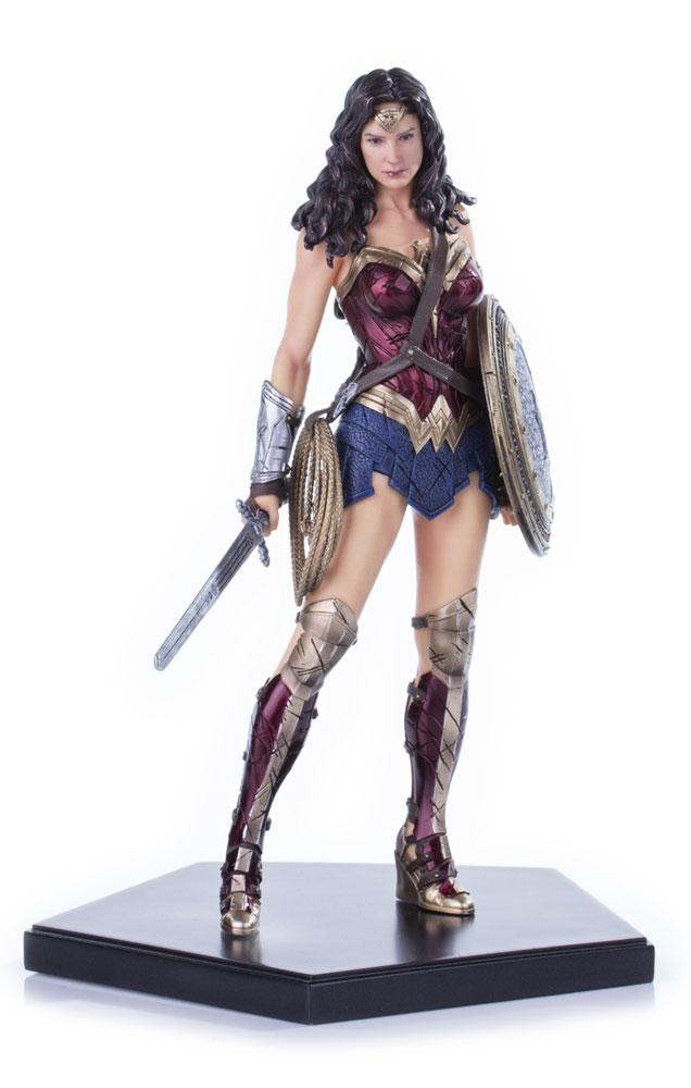 Estátua Batman v Superman Dawn of Justice 1/10 Wonder Woman 18 cm